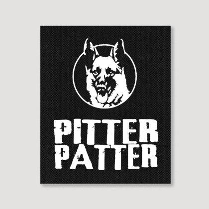 Letterkenny Pitter Patter Portrait Canvas Print Designed By Blqs Apparel