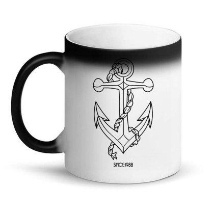 Anchor Since 1988 Tshirt Magic Mug Designed By Goddesign