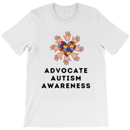 Advocate Autism Awareness (2) T-shirt Designed By Artmaker79