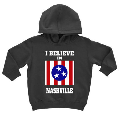 I Believe Toddler Hoodie Designed By Pinkanzee