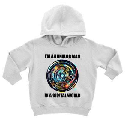 Digital World Toddler Hoodie Designed By Pinkanzee