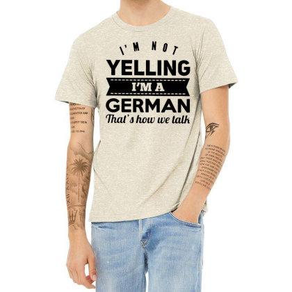 I'm A German Heather T-shirt Designed By Pinkanzee