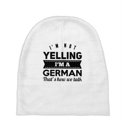 I'm A German Baby Beanies Designed By Pinkanzee