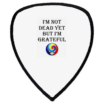 I'm Grateful Shield S Patch Designed By Pinkanzee