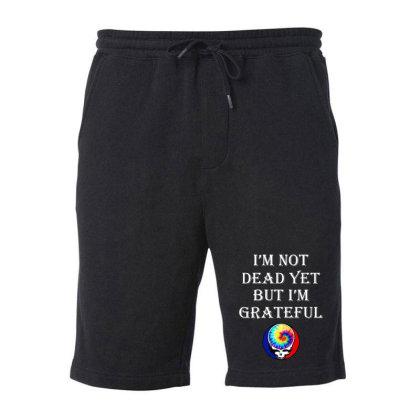 I'm Grateful Fleece Short Designed By Pinkanzee