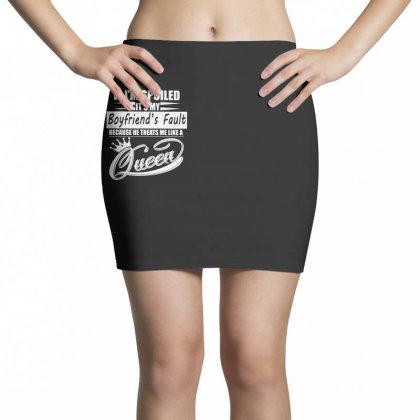 I'm Spoiled Mini Skirts Designed By Pinkanzee