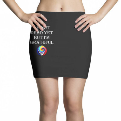 I'm Grateful Mini Skirts Designed By Pinkanzee