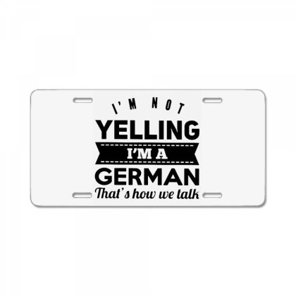 I'm A German License Plate Designed By Pinkanzee