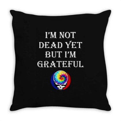 I'm Grateful Throw Pillow Designed By Pinkanzee