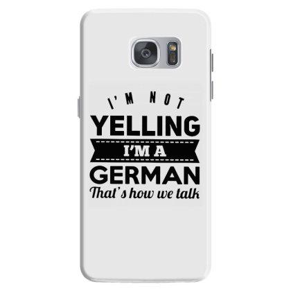 I'm A German Samsung Galaxy S7 Case Designed By Pinkanzee