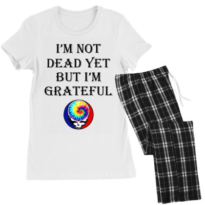 I'm Grateful Women's Pajamas Set Designed By Pinkanzee