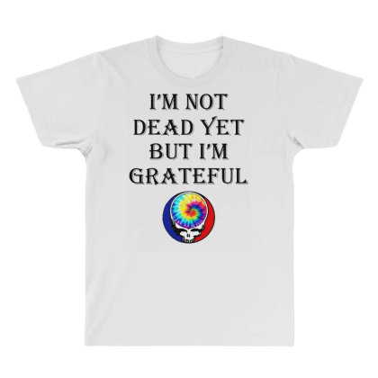 I'm Grateful All Over Men's T-shirt Designed By Pinkanzee