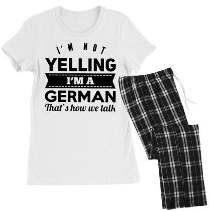 I'm A German Women's Pajamas Set Designed By Pinkanzee
