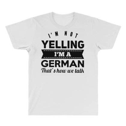 I'm A German All Over Men's T-shirt Designed By Pinkanzee