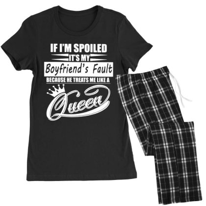 I'm Spoiled Women's Pajamas Set Designed By Pinkanzee