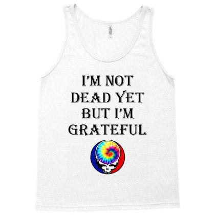 I'm Grateful Tank Top Designed By Pinkanzee