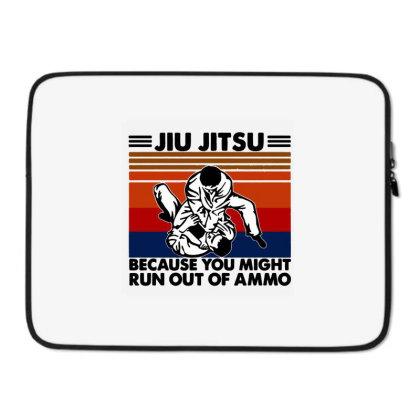 Jiu Jitsu Laptop Sleeve Designed By Pinkanzee
