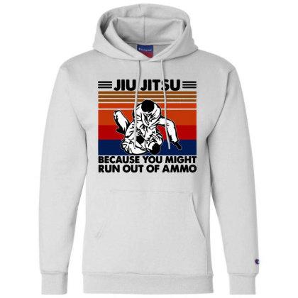 Jiu Jitsu Champion Hoodie Designed By Pinkanzee