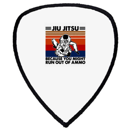Jiu Jitsu Shield S Patch Designed By Pinkanzee