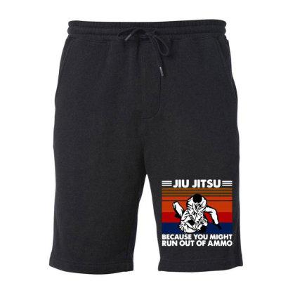 Jiu Jitsu Fight Fleece Short Designed By Pinkanzee