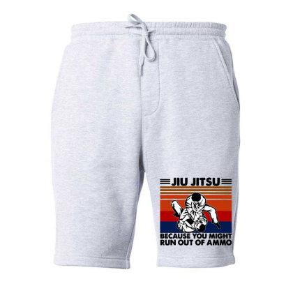 Jiu Jitsu Fleece Short Designed By Pinkanzee