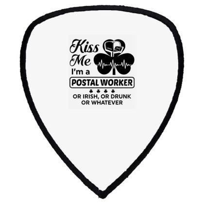 I'm A Postal Worker Irish Shield S Patch Designed By Pinkanzee