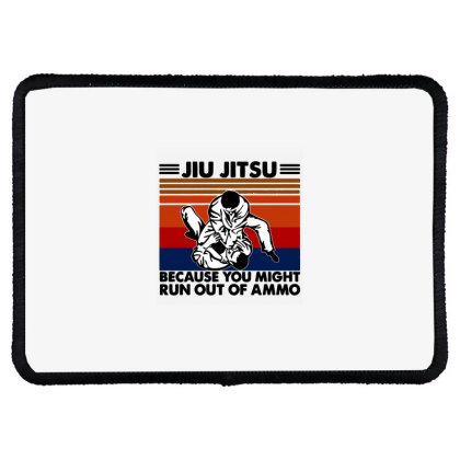 Jiu Jitsu Rectangle Patch Designed By Pinkanzee