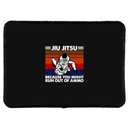 Jiu Jitsu Fight Rectangle Patch Designed By Pinkanzee
