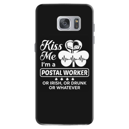 Kiss Me St Patrick's Day Samsung Galaxy S7 Case Designed By Pinkanzee