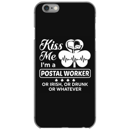 Kiss Me St Patrick's Day Iphone 6/6s Case Designed By Pinkanzee