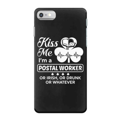 Kiss Me St Patrick's Day Iphone 7 Case Designed By Pinkanzee