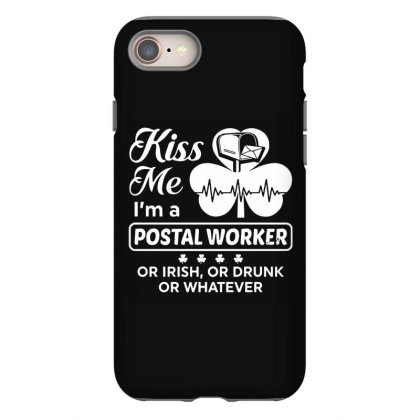 Kiss Me St Patrick's Day Iphone 8 Case Designed By Pinkanzee