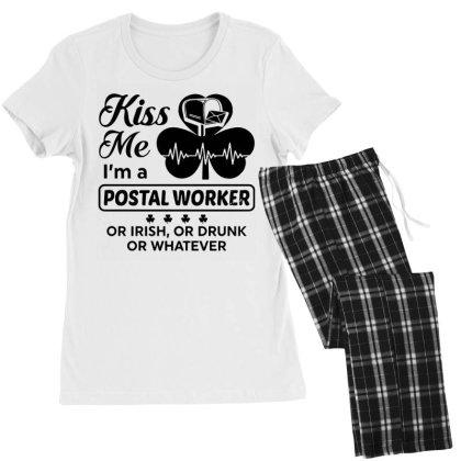 I'm A Postal Worker Irish Women's Pajamas Set Designed By Pinkanzee