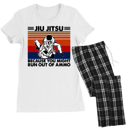 Jiu Jitsu Women's Pajamas Set Designed By Pinkanzee