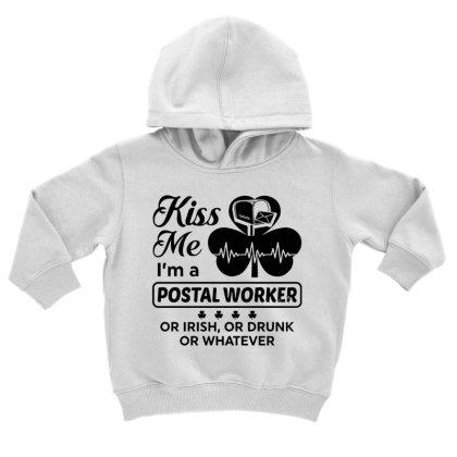 I'm A Postal Worker Irish Toddler Hoodie Designed By Pinkanzee