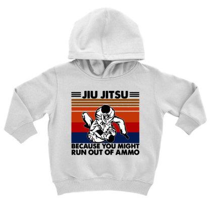 Jiu Jitsu Toddler Hoodie Designed By Pinkanzee