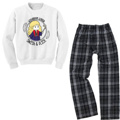 Cute Anime Youth Sweatshirt Pajama Set Designed By Pinkanzee