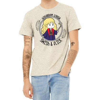 Cute Anime Heather T-shirt Designed By Pinkanzee