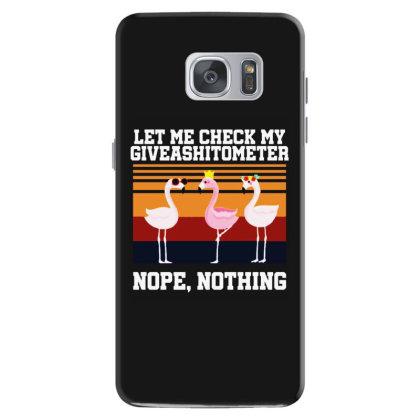 Giveashitometer Samsung Galaxy S7 Case Designed By Pinkanzee
