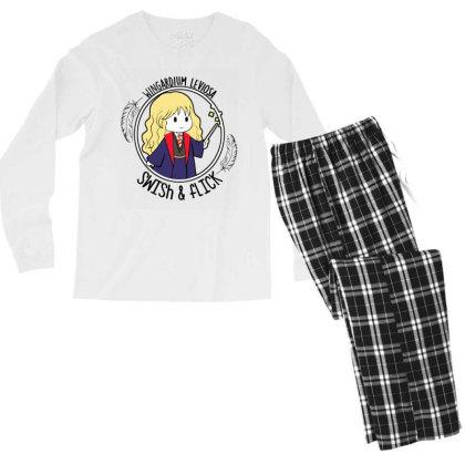 Cute Anime Men's Long Sleeve Pajama Set Designed By Pinkanzee