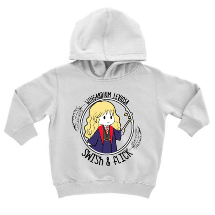 Cute Anime Toddler Hoodie Designed By Pinkanzee