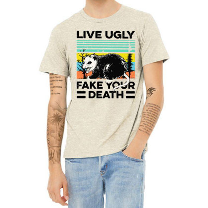 Fake Your Death Heather T-shirt Designed By Pinkanzee