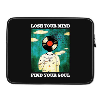Find Your Soul Laptop Sleeve Designed By Pinkanzee