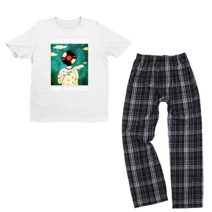 Find Your Soul Youth T-shirt Pajama Set Designed By Pinkanzee