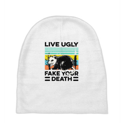 Fake Your Death Baby Beanies Designed By Pinkanzee