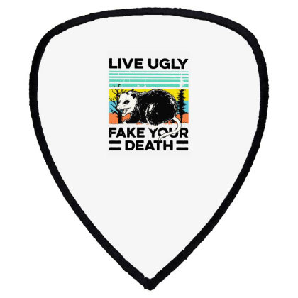 Fake Your Death Shield S Patch Designed By Pinkanzee