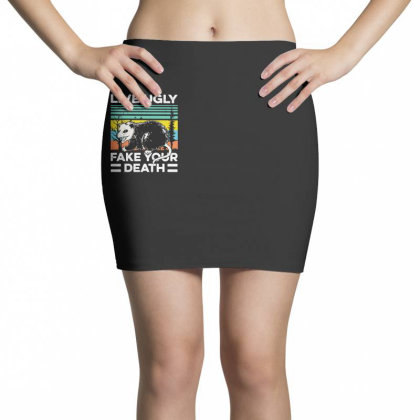 Fake Your Death Mini Skirts Designed By Pinkanzee