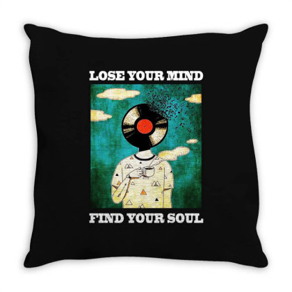 Find Your Soul Throw Pillow Designed By Pinkanzee