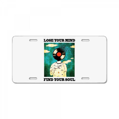 Find Your Soul License Plate Designed By Pinkanzee