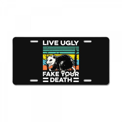 Fake Your Death License Plate Designed By Pinkanzee